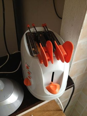 Calciufetta Bed & Breakfast: 'toaster'