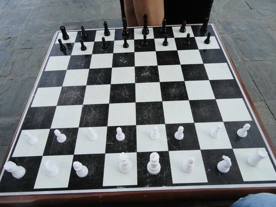 Chess Board @ Games Arena - Picture of Sinclairs Bay View, Port