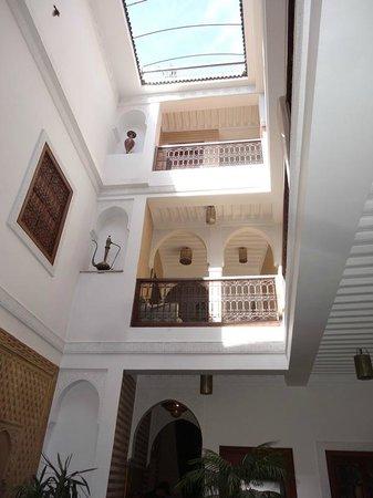 Riad Dar Beldia : Cour intérieure