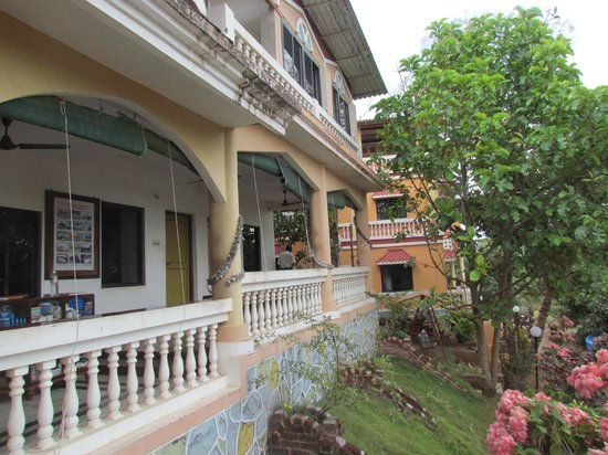 Hotel Sai Palace: Entrance
