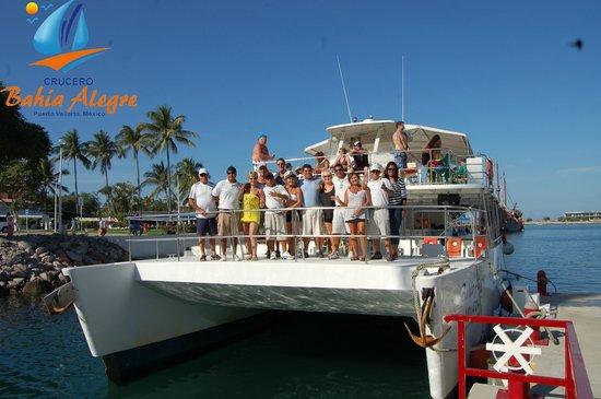Crucero Bahía Alegre: Bahia Alegre