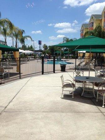Homewood Suites by Hilton Orlando-Nearest to Univ Studios: pool entrance