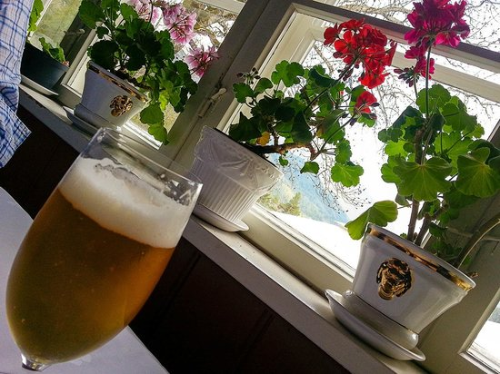 Nutheim Gjestgiveri: Local Beer from Local microbrewery