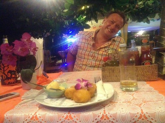 dinner at Naithon Beach House Restaurant