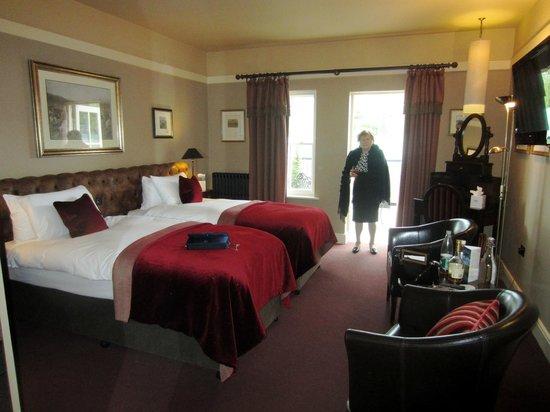 Castle Leslie Estate: Twin bedroom