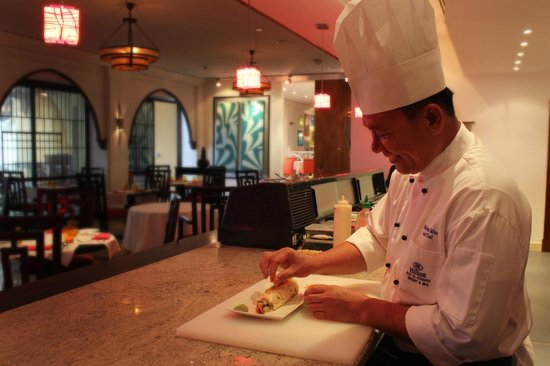 Passage to Asia: The Chef in action