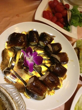 Silks Place Yilan: Outstanding duck meals at the Chinese Restaurant