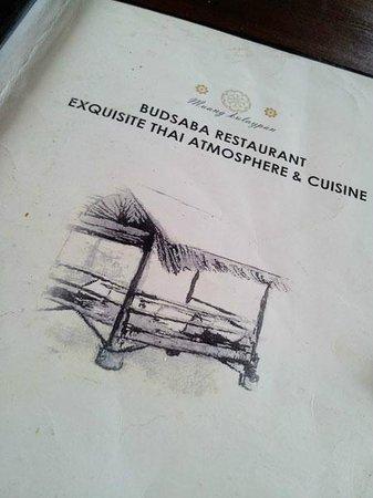 Budsaba: Nice food