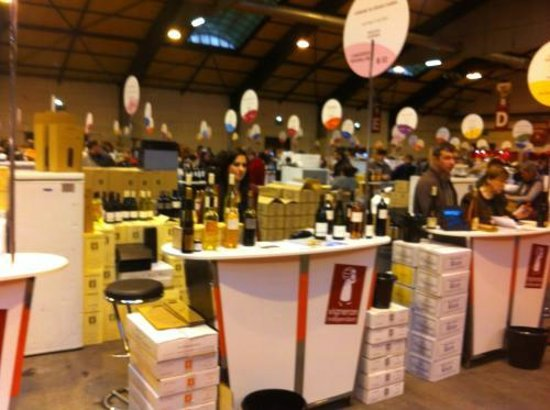 Salon des vins des vignerons ind pendants de strasbourg for Salon des vins independants