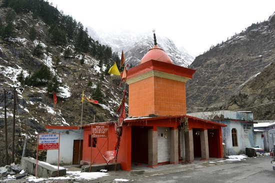 Yamunotri, Indie: Temple at Hanuman Chatti