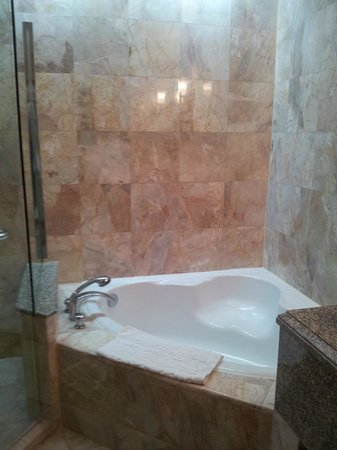 Century Park Hotel: Bath tub room 1137