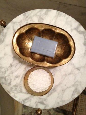 Greenwich Hotel: Bath salts