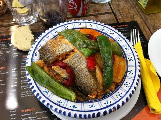 TAM TAM : couscous de poisson