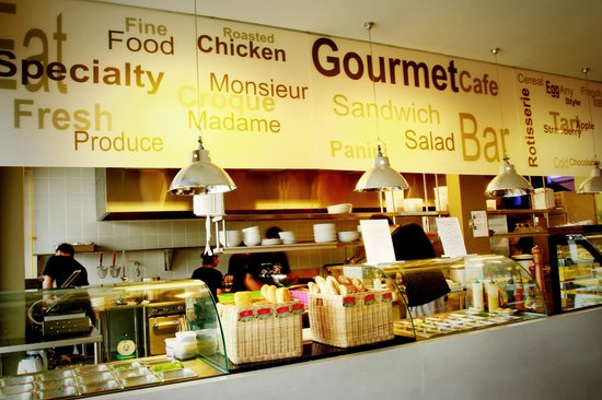 Gourmet Cafe at Dewi Sri
