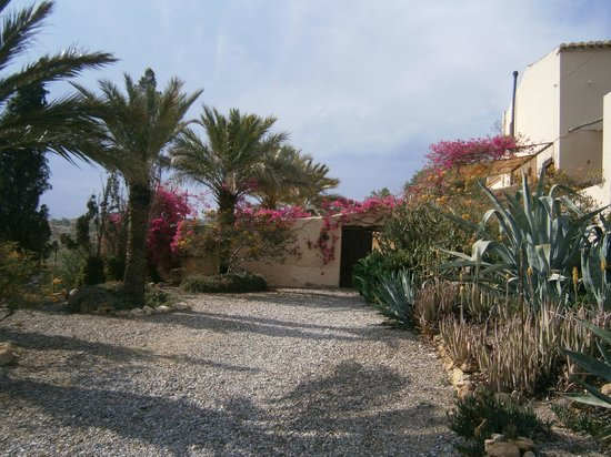 Cortijo del Sevillano: The entrance to the apartment area.