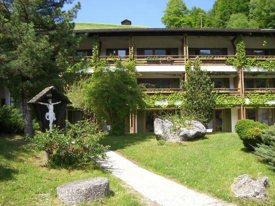 Best Western Plus Berghotel Rehlegg: Hotel Seitenbereich