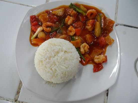 Fishy`s Burger Island: sweet and sour