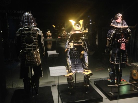 Museu do Oriente: Samurai armour