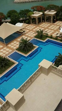 Grand Hyatt Doha Hotel & Villas: from my suite
