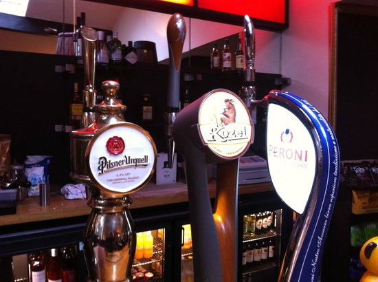 The Lilly Bar & Grill : Our selection of Draught Lagers
