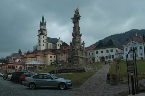 Hotel Golfer: center of the town Kremnica