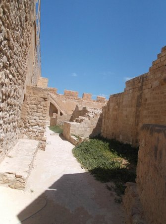 Fort Ghazi Mustapha: Lower level of Fort