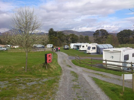 Eisteddfa Caravan & Camping Site: Great site
