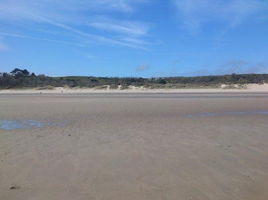 Eisteddfa Caravan & Camping Site: Abersoch 'Warren' beach
