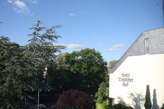 Hotel Deutscher Hof: View from room