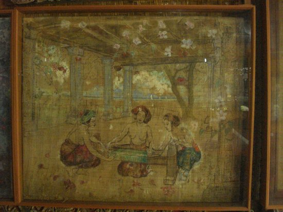 Le Mayeur Museum : painting