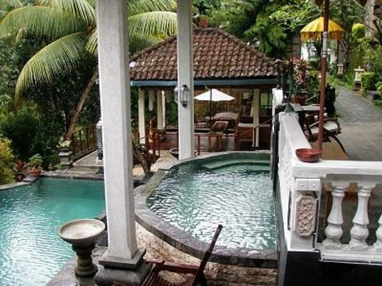 B&B Home Stay Griya Jungutan: Relaxing Pool Area