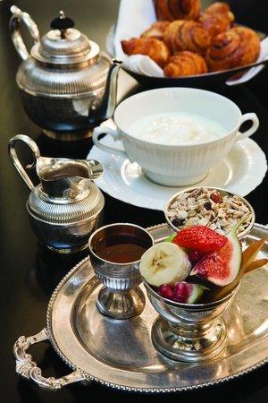 Hotel Montefiore: breakfast