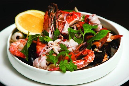 Hotel Montefiore: Seafood Casserole