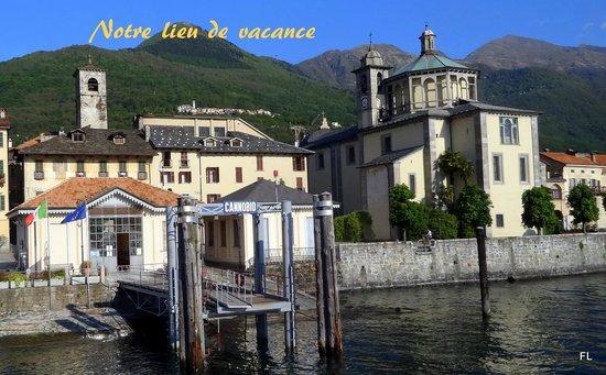 Hotel Il Portico: l'hôtel,le sanctuario della Pieta et l'embarcadère