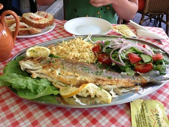 Fainos Restaurant: very tasty!