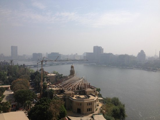 Sofitel Cairo El Gezirah: View from my window