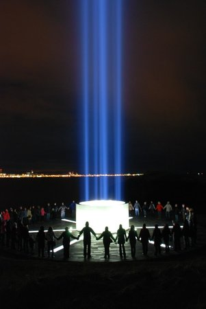 Imagine Peace Tower: Thinking of peace