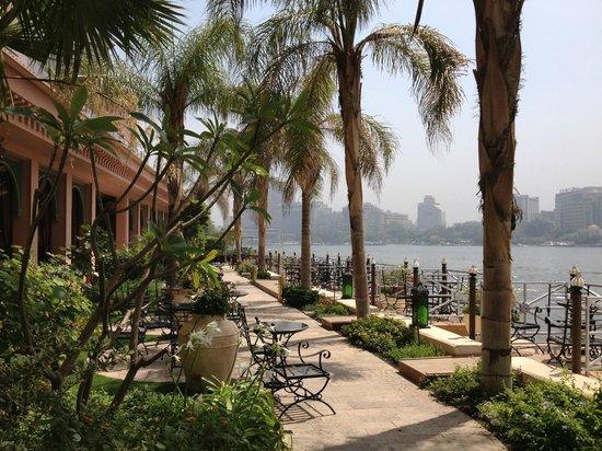 Sofitel Cairo El Gezirah: View from the gardens