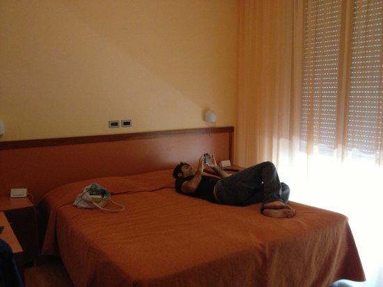 Hotel Raffaello: La camera