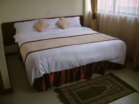 Hotel Central Park Nairobi: Comfortable beds
