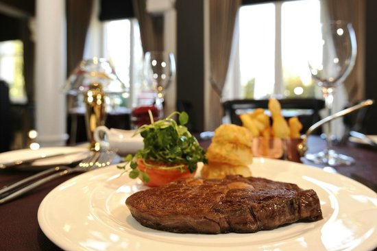 Marco Pierre White Steakhouse Bar & Grill Chester: Our finest quality beef is aged for 28 days