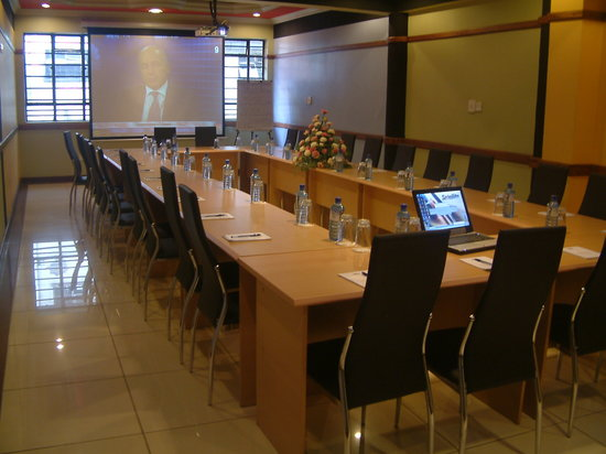 Hotel Central Park Nairobi: fully equiped conference centre