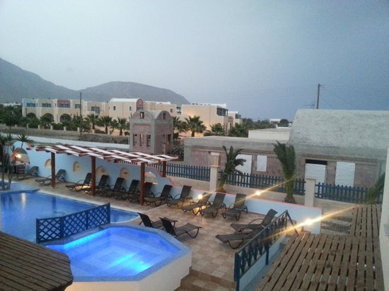 Hotel Eleftheria: View from Room 16
