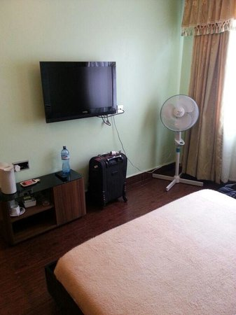 Progressive Park Hotel: Flat Screen TV