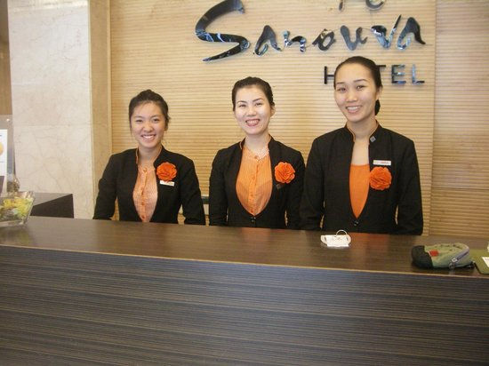 Sanouva Saigon Hotel: Staff - Always smiling Always helpful!!