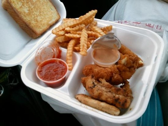 Willy T's: Sampler plate.  Find out how bad everything is with just one purchase!