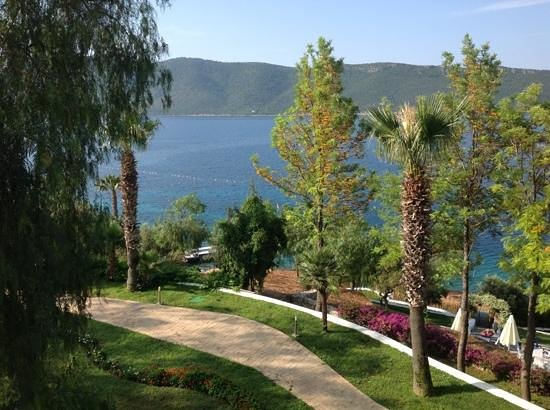 Bodrum Holiday Resort & Spa: great view from pool area