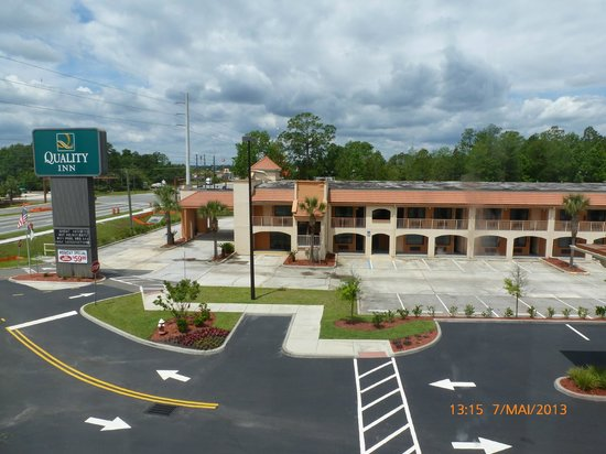 Holiday Inn Express Hotel & Suites Saint Augustine North: vue depuis notre chambre