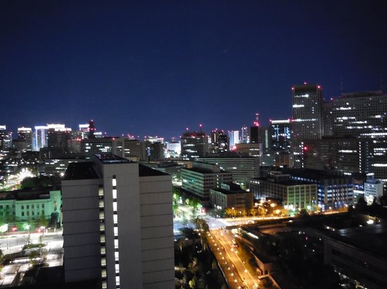 Window View - The Capitol Hotel Tokyu: 6