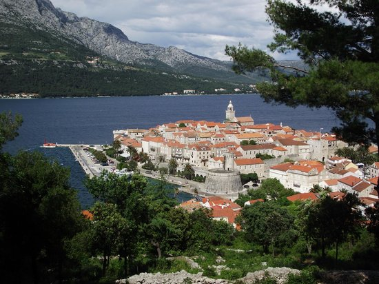 Korcula Island - Priscapac: Korčula town